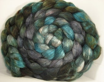 Yak Bombyx Silk 50/50 Roving Combed Top - 5oz - Riverboat 2