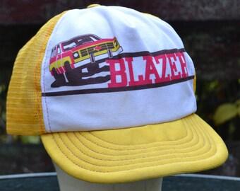 Vintage Blazer Trucker Hat