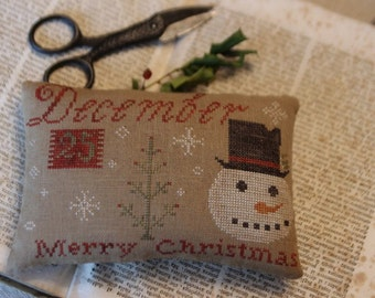 December 25th Merry Christmas Pinkeep *PATTERN*