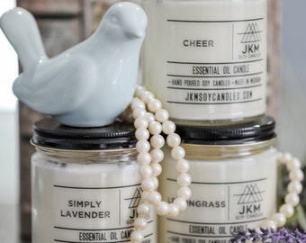 Essential Oil Candle - You Choose the Scent