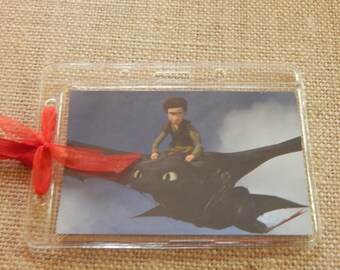 Luggage Bag Tag ID Holder How to Train your Dragon