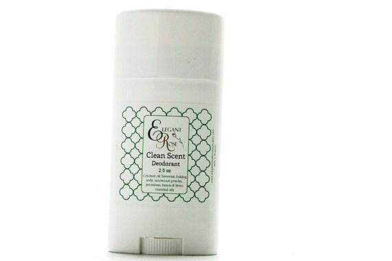 Clean Scent Natural Deodorant - Essential Oil Natural Deodorant