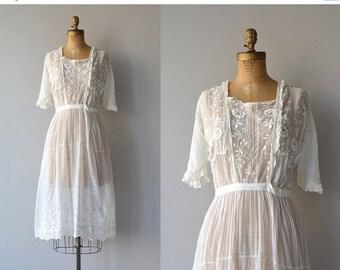 25% OFF.... Avalon dress   cotton 20s dress   vintage 1920s tea dress
