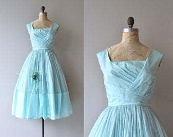 Pattullo Jo Copeland dress | vintage 1950s dress | silk 50s party dress