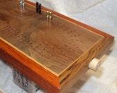 K&R - Ritchie - Artisan Cribbage Board