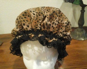 Fancy Shower Cap Chita Spa and Bath fits Small