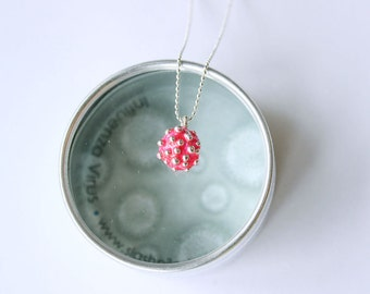 Influenza Necklace - this year's flu!