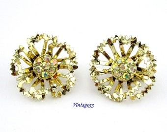 Rhinestone Earrings Allusions by Sarah Coventry