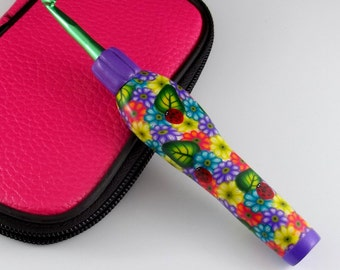 Interchangeable Ergonomic Crochet Hook Set - Made to Order
