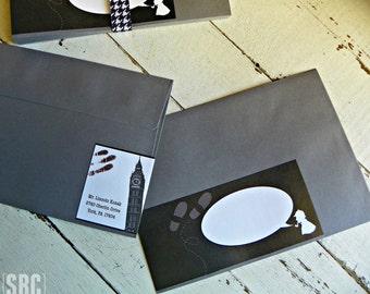 Sherlock Holmes Address Wraps...Set of 12 Sherlock Holmes Wraps. Envelopes NOT included.