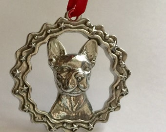 Dog Ornament - French Bulldog