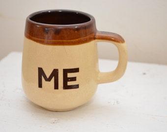 on sale Vintage ME coffee mug