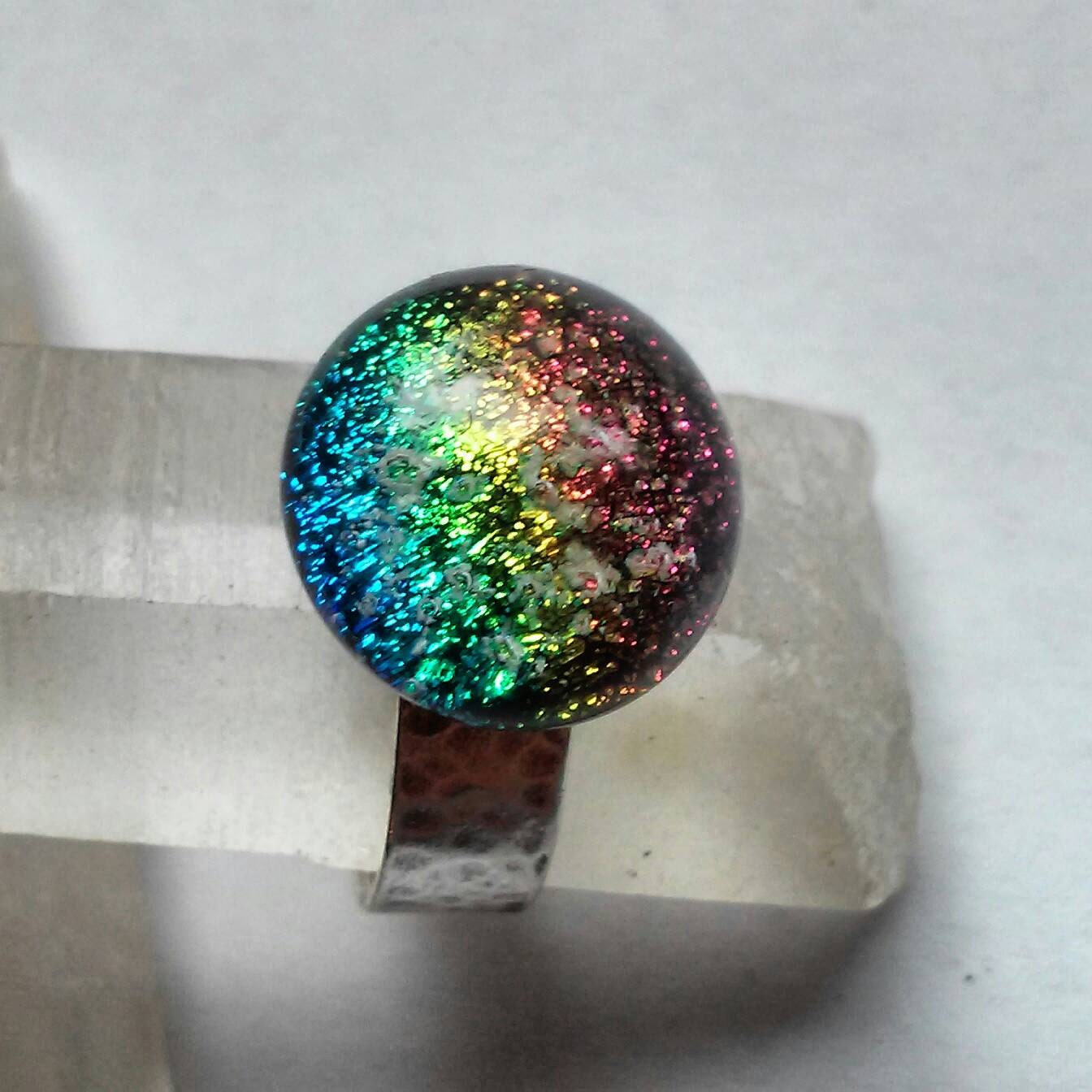 ashes to glass jewelry cremation jewelry ashes infused glass memorial urn ring 5883