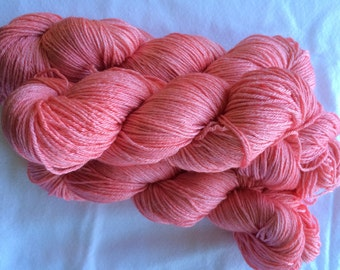 Studio June Yarn, Silky Meri,  Color: Coral Pink