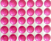 Colored Upholstery Nails in Hot Pink with High Dome / Lot of 50