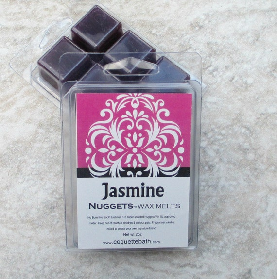 jasmine scented wax melts spring time floral long lasting. Black Bedroom Furniture Sets. Home Design Ideas