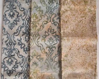 French Lace II Batik 1/3 yd Fabric Bundle - Moda