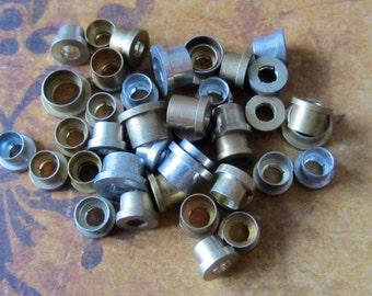 Vintage Brass Clock parts spindles - levers - Robot mix - Levers - Steampunk - Scrapbooking k80