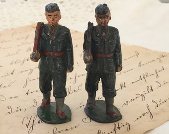 English Toy Soldiers, Barclay Soldiers, Manoil Toy Soldier,