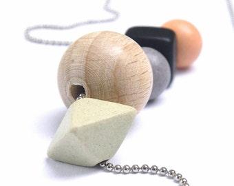 Bybjor Ceramic & Silver Necklace