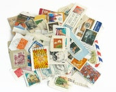 100x mixed Postage Stamps, Used Stamps, Vintage Postage, Scrapbooking, Junk Journal, Project Life - CLEARANCE SALE - Shop Closing