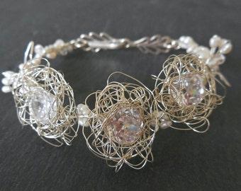 Silver Bracelet Precious Nest - Sterling Silver