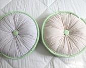 Custom memory pillows - 2 - round