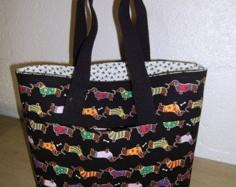 Dogs in a Row! 2GoTote /Tote Bag