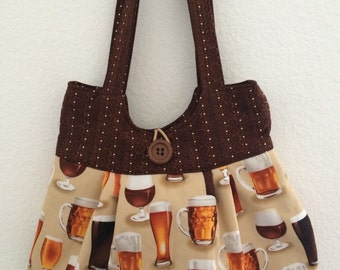 Beer Glass Purse