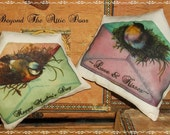 Mother's Day Bowl Fillers Victorian Envelopes Birds Set of Two Tucks Ornies
