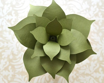 Paper Succulent DIY Papercrafting Kit