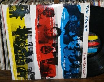 The Police Synchronicity Vintage Vinyl Record
