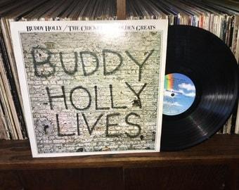 Buddy Holly Lives Vintage Vinyl Record