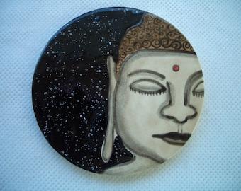 BUDDHA No. 2 - Ceramic Mosaic Tile