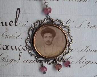 Miss Wyatt - Antique Assemblage Necklace