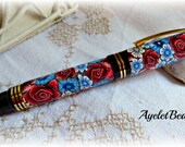 Churchill roller ball crafted One of a kind pen.