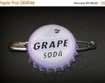 SALE Up Inspired Grape soda bottle cap Pin