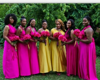 USA, Convertible dress, inifinty dress, bridesmaids dress