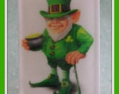 ST PATRiCKS DAY Soap * Leprechaun * 4 Leaf Clover Scented * Unique Unisex Irish Gift * Home Decor * Vegan Friendly * Handmade USA * Limited