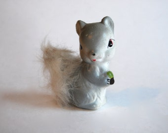 Vintage Grey Squirrel