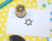 Star of David Mini Stamp - Religious Symbol Rubber Stamp - Jewish Stamp - bullet journal - planner stamp