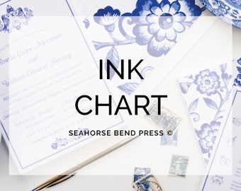 Ink Color Chart