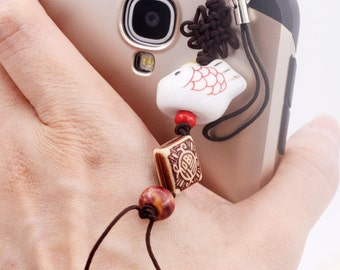NianNianYouYu Koi phone charm/ dust plug (DP)