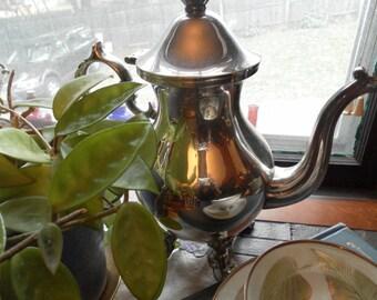 Antique Silverplate Tea or Coffee pot