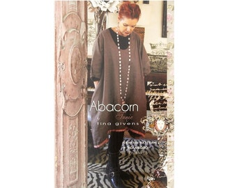 Abacorn Tunic Dress Sewing Pattern by Tina Givens TG-A6030- LAGENLOOK STYLE!
