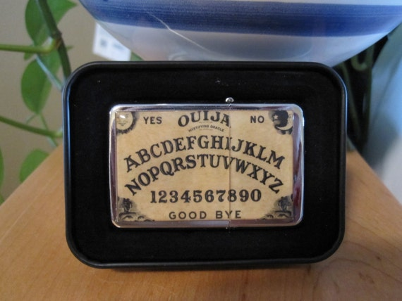 Ouija Board Refillable Wind Proof Flip Top Lighter