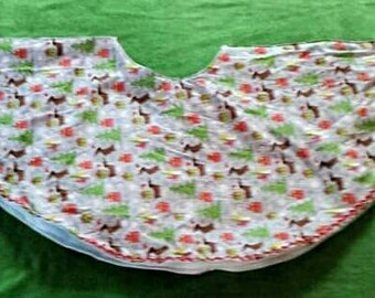 Last one left Dachshund Tree Skirt Left made and ready to Ship