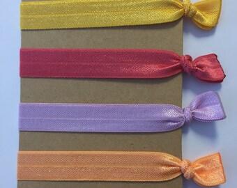 Emi Jay Inspired Hair Ties: Sunny, Watermelon, Hyacinth, and Cantaloupe