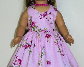 Summer dress 3 piece designed for American Girl 18 inch doll   No.680