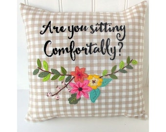 Comfortable Cushion (Pillow) Cover pdf pattern download
